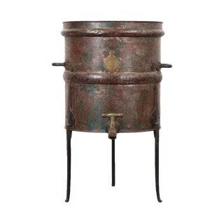 19th Century French Steel Jura Wine Barrel For Sale
