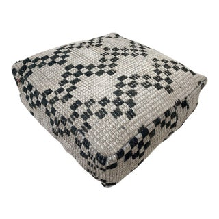 Moroccan Floor Cushion Pouf Cover For Sale