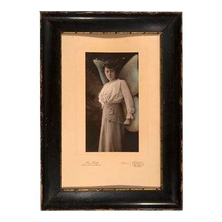 Jana Paleckova: Untitled (Woman With Butterfly Wings and Wand)