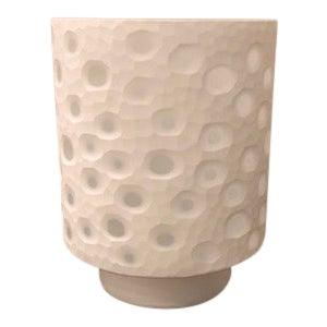Polka Dot Hurricane Candle Holder For Sale