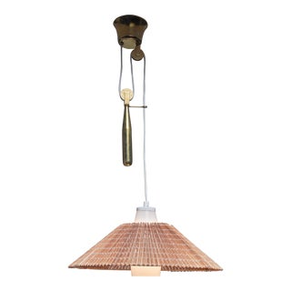 Paavo Tynell pendant with counterweight, Finland For Sale