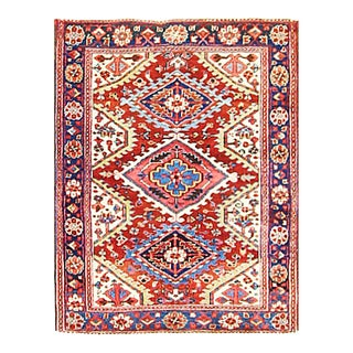 """Early 20th Century Persian Heriz Rug-3'8"""" X 4'8"""" For Sale"""