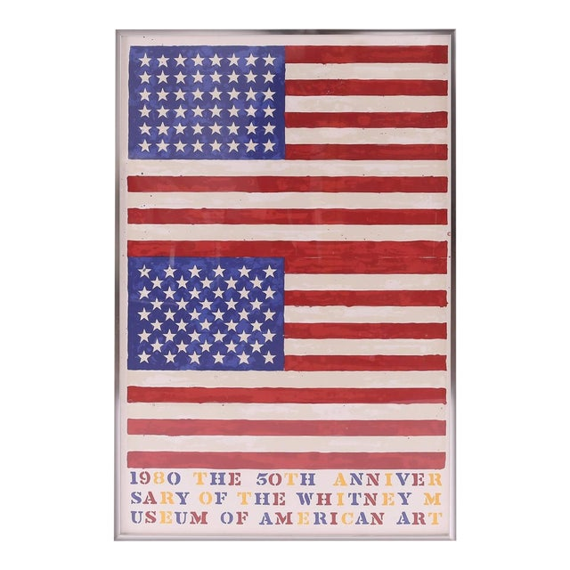After Jasper Johns, the 50th Anniversary of the Whitney Museum of American Art For Sale