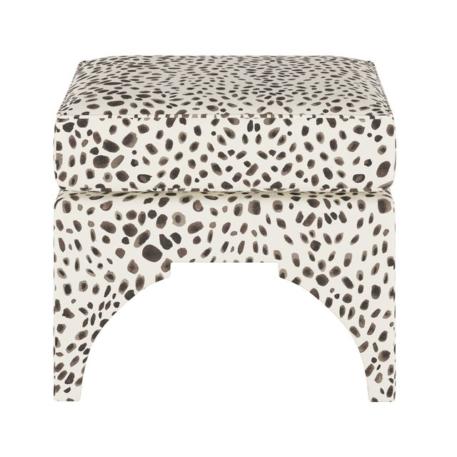 The hand-upholstered Garrett Ottoman provides perfect comfort with a soft square cushion attached atop a base of sleek...