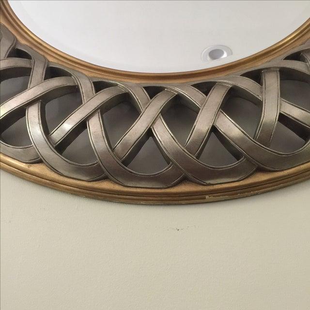 Chinese Round Decorative Mirror - Image 4 of 8