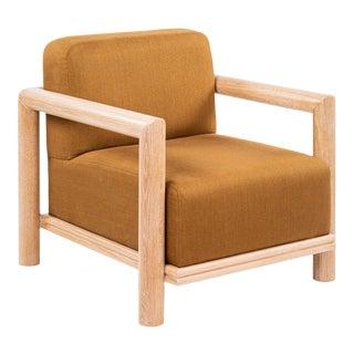 La Jolla Lounge Chair in Truffle For Sale