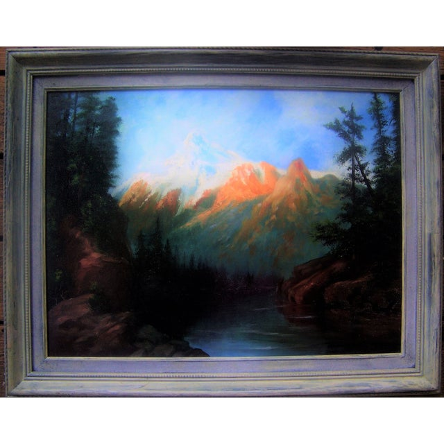 California Plein Air Landscape Painting 1960's - Image 2 of 5