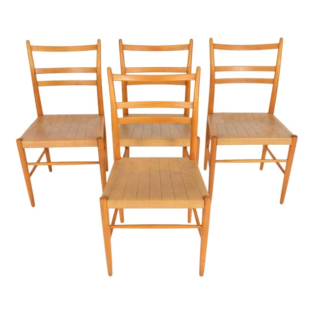 Swedish Yngve Ekström Dining Chairs - Set of 4 For Sale