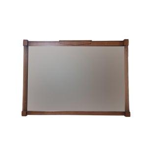 Drexel Mid Century Modern Truine Mahogany Mirror For Sale