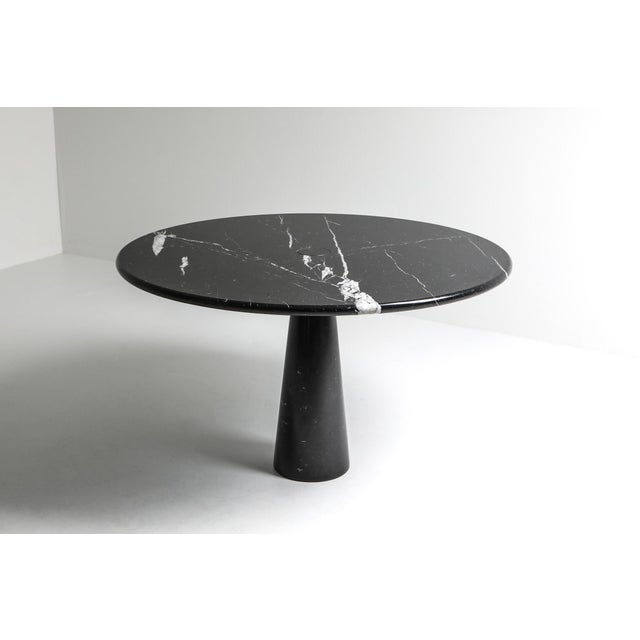 1970s Mangiarotti Eros Marble Dining Table For Sale - Image 5 of 10