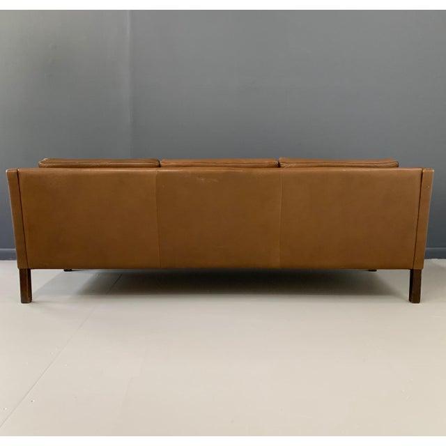 Børge Mogensen Model 2213 Three-Seat Sofa For Sale In Philadelphia - Image 6 of 7