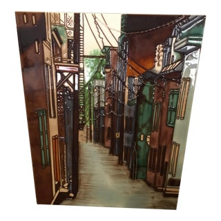 Ceramic Alleyway Wall Artwork