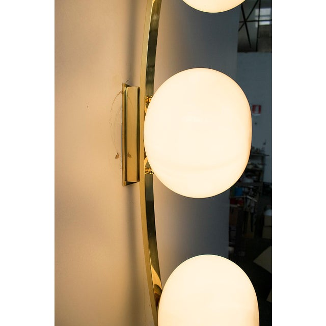Gold Cresta Sconce by Fabio Ltd For Sale - Image 8 of 10