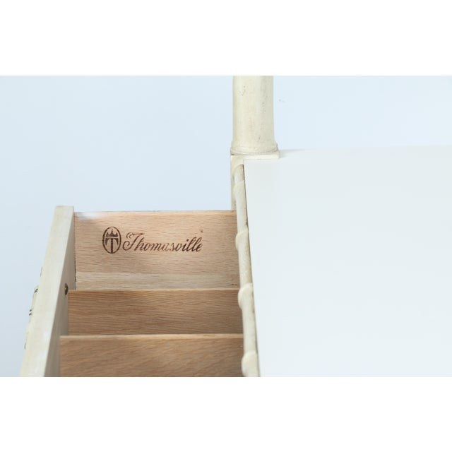 Thomasville Bamboo Style Serving Cart - Image 8 of 11