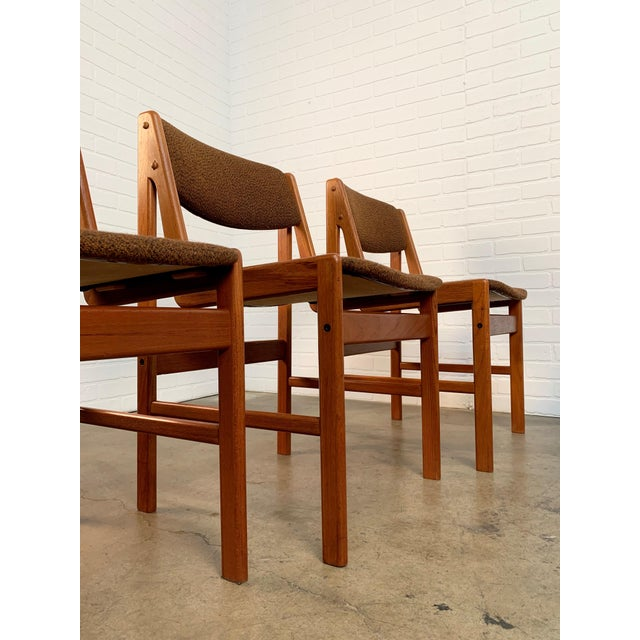 Danish Modern Dining Chairs by Artfurn, Denmark For Sale - Image 10 of 13