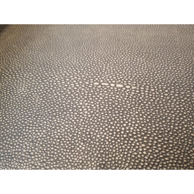 Restoration Hardware Restoration Hardware Shagreen Tray Square Coffee Table For Sale - Image 4 of 6