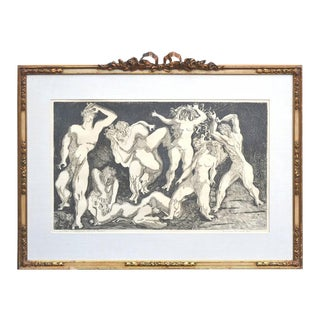 "Ernest Freed ""Battle of the Sexes"" Engraving For Sale"