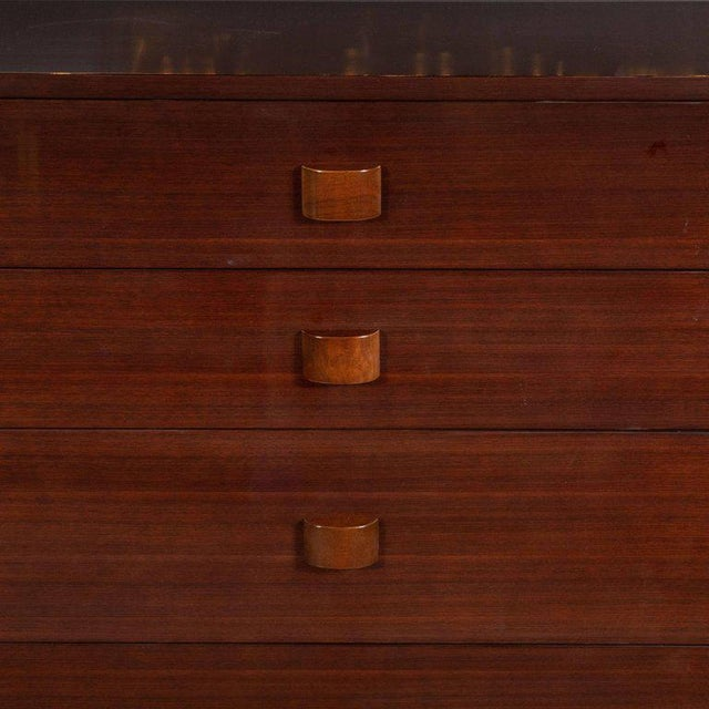 This refined and sophisticated high chest was realized by the fabled 20th century designer Gilbert Rohde for Herman...