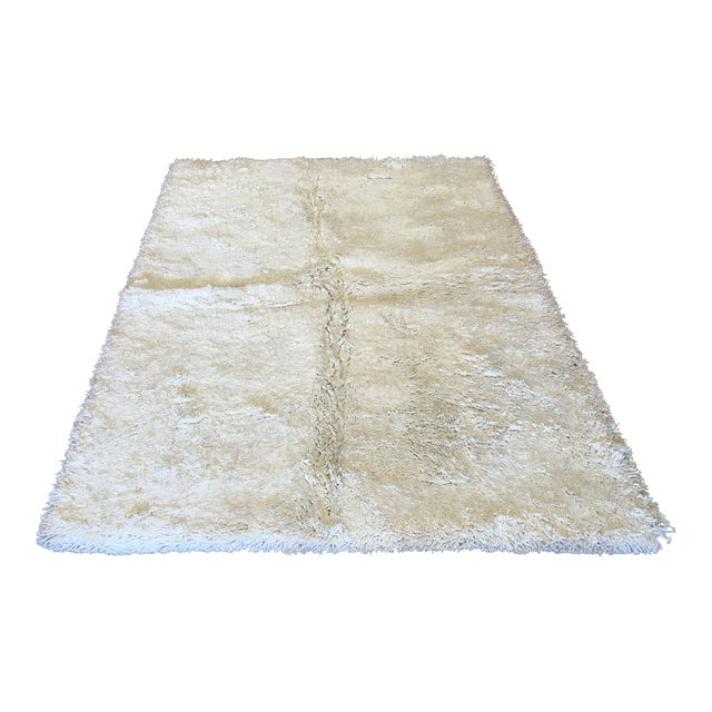 """Turkish Hand Knotted Wool Rug - 4'10"""" X 6'10"""" - Image 1 of 5"""