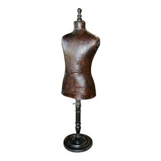 Italian 19th C. Leather Dress Model For Sale