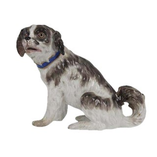 Meissen Figure of a Dog For Sale