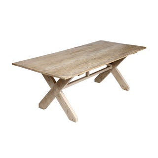 Axelwood X Base Dining Table For Sale