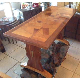 Mid Century Farm Table Trestle Table Preview