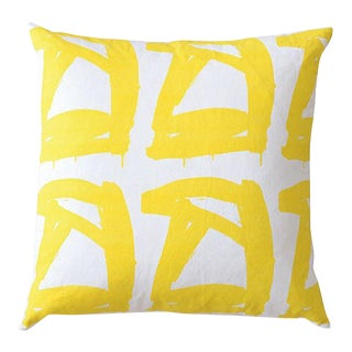 Madame Yellow Pillow by Kerri Rosenthal