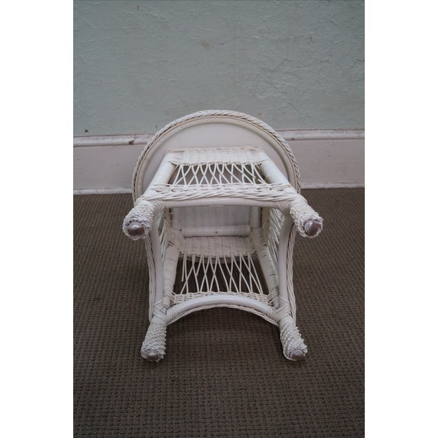 Victorian Child's Wicker Patio Set - Image 9 of 10