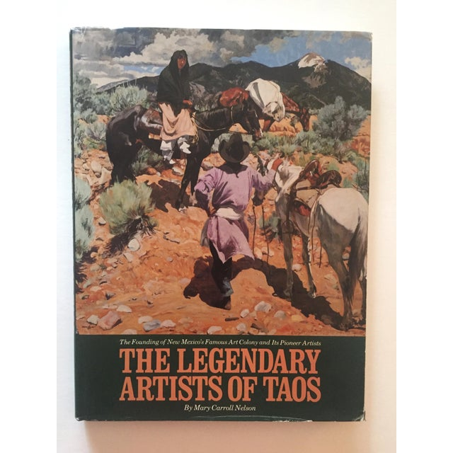 This vintage 1st edition rare hardcover art book is titled The Legendary Artists of Taos, The Founding of New Mexico's...
