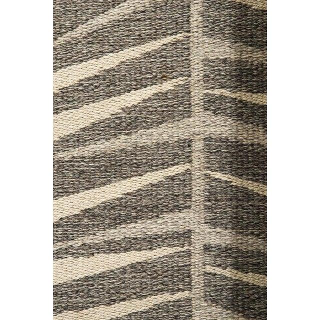 Vintage Ingrid Dessau Flat-Weave Swedish Carpet - Image 5 of 5