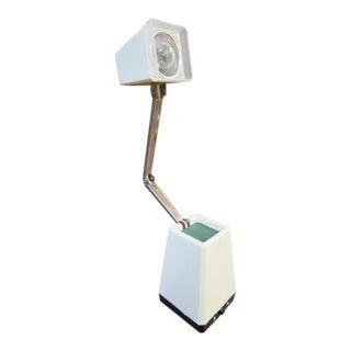 Vintage 1960s Mid-Century Modern Adjustable Desk Lamp For Sale