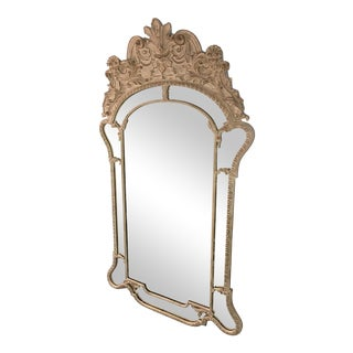 Large White Wall Mirror For Sale