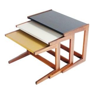 Danish Modern Nesting Tables For Sale