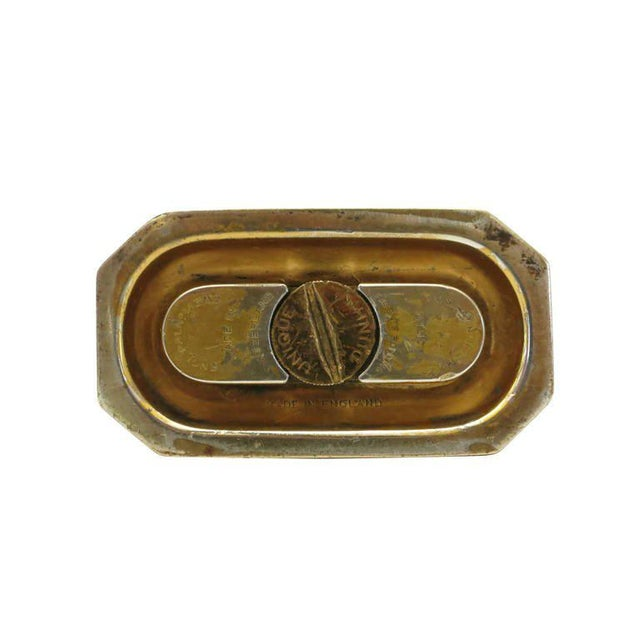 Aged Lift Arm Table Lighter by Dunhill - Image 9 of 9