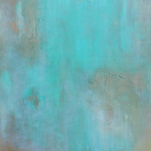 """Atlantis"" Mixed Media Painting - Image 1 of 3"