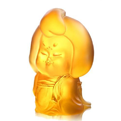 2010s Mini Woman Figurine, The Beauty of Tang Dynasty-My Ideal Type, Light Amber For Sale - Image 5 of 6