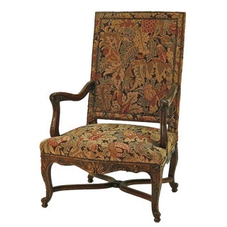 19th Century French Regence Armchair For Sale