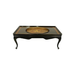 Period Regency Tray in Custom Coffee Table For Sale