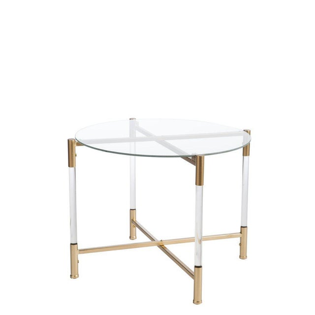 Statements By J Acrylic End Table - Image 2 of 2