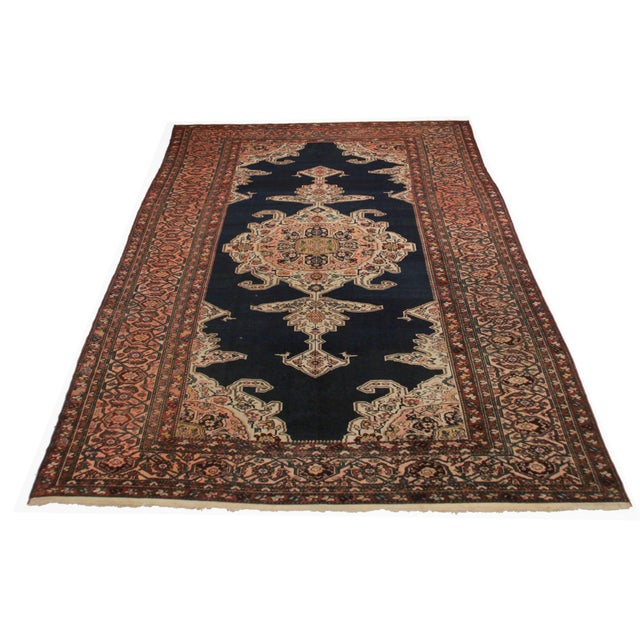 RugsinDallas Persian Hand Knotted Wool Hamedan Rug- 11′8″ × 15′6″ - Image 2 of 2