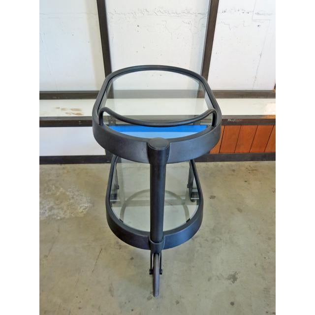 1980s 1980s Mid Century Modern Enzo Mari for Alessi Bar/Tea Cart For Sale - Image 5 of 8