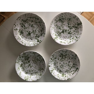 Penny Morrison Green Speckled Ceramic Plates - Set of 4 Preview