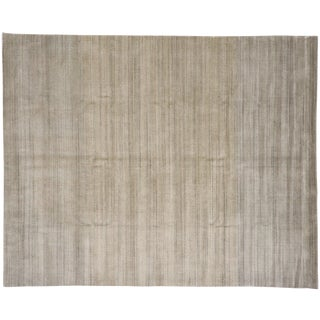 Transitional Ombre Area Rug - 8′1″ × 10′1″ For Sale