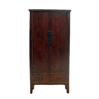 Antique Chinese Wood Cabinet