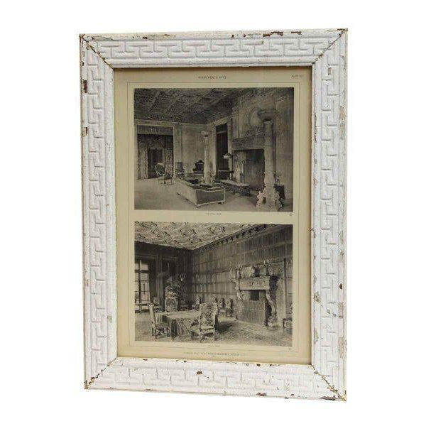 McKim, Mead & White original photograph of 'Harbor Hill', the C.H. MacKay Residence in Roslyn, L.I. Shown is the dining...