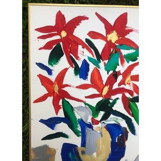1980s Barbara DeSassure Floral Still Life Painting Preview