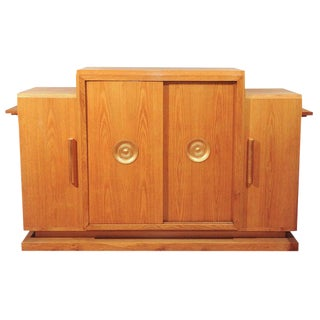 French Oak Architect's or Wine Cabinet For Sale