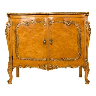20th Century Burlwood Sideboard or Buffet For Sale