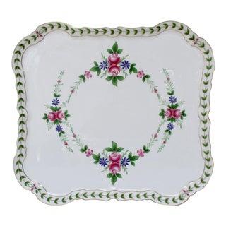 Porcelain Footed Platter